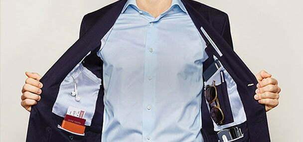 جیب های لباستان را خالی کنید