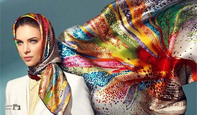 انتخاب شال و روسری مناسب