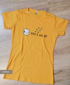 تی شرت طرح لوسی